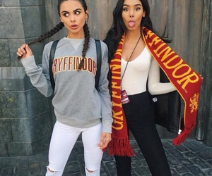 friends, harry potter, and gryffindor image