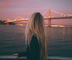bridge, dreamy, and girl image