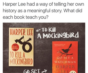 book, books, and Harper Lee image