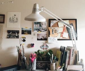 study, desk, and inspo image