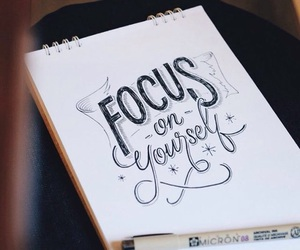 focus, letters, and like image