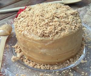 cake, paçoca, and bolo image