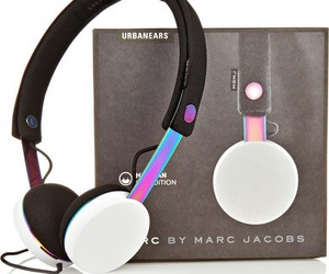 urbanears, headphones, and marc jacobs image