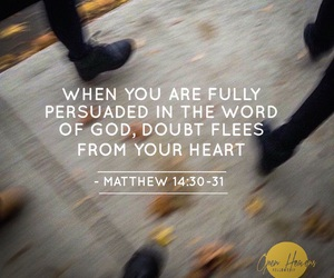 alive, bible study, and doubt image
