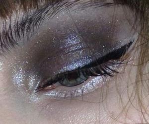 eyebrow, girl, and makeup image