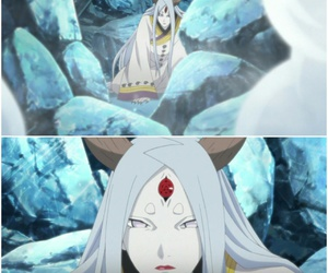 naruto, kaguya otsutsuki, and ice dimension image
