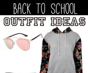 college, Polyvore, and style image
