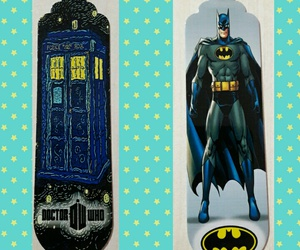 batman, bookish, and bookmark image