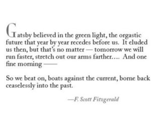 fitzgerald, gatsby, and quote image
