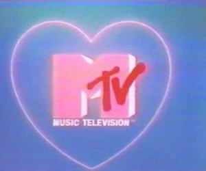 mtv, television, and music image