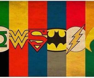 batman, superman, and hero image