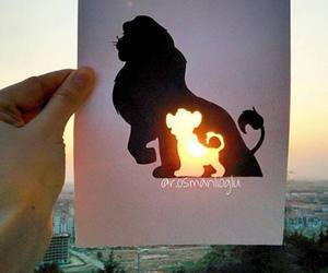 disney, art, and simba image
