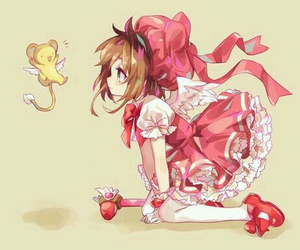 anime, sakura card captor, and magical girl image