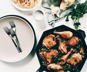 Chicken, dinner, and picture image