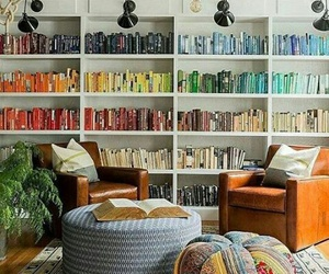 book, bookshelf, and home image