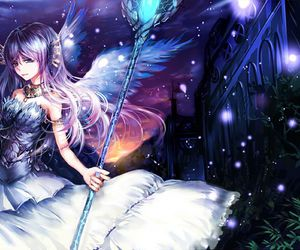 anime and fantasy image