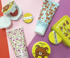 kawaii, makeup, and rilakkuma image