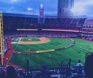 aesthetic, summer, and baseball image