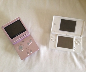 console, game boy, and nintendo ds lite image