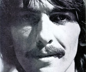 beautiful, george harrison, and the beatles image