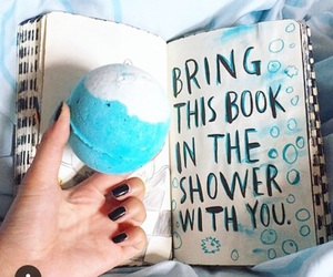 blue, bathbombs, and lush m image
