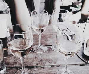 wine, drink, and friends image