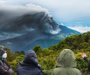 costa rica, erupción, and turrialba image