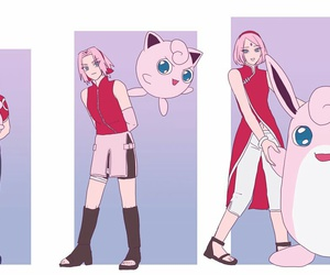 jigglypuff, pokemon, and crossover image