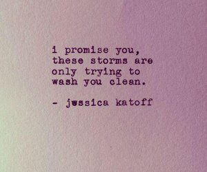 quotes, storm, and clean image