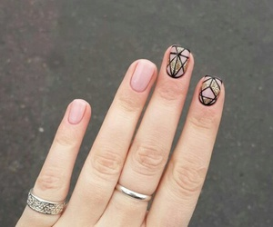 cool, nails, and girl image