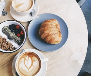 breakfast, coffee, and life image