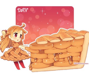 cute, anime, and Apple Pie image