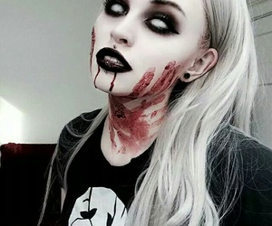 Halloween and blood image