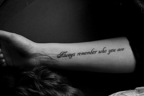 Never forget who you really are. - A Little Peace of Heaven on we heart it / visual bookmark #25224845 on imgfave