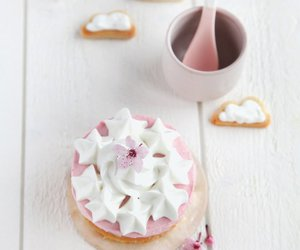 cute and playing with food image