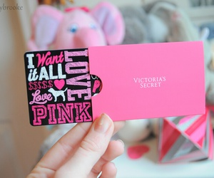 pink, Victoria's Secret, and tumblr image