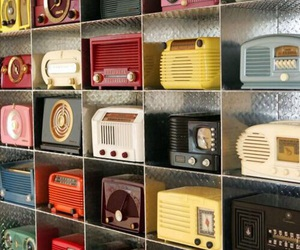 vintage, radio, and retro image