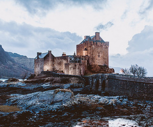 castle, nature, and uk image