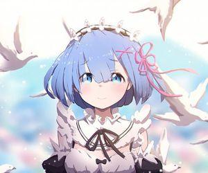 anime, kawaii, and rem image