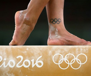 fitness, sports, and rio 2016 image