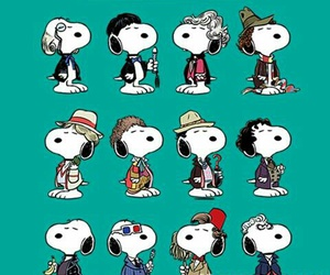 10, doctor who, and snoopy image