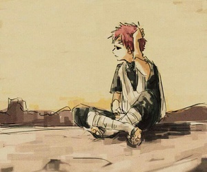 naruto, gaara, and anime image