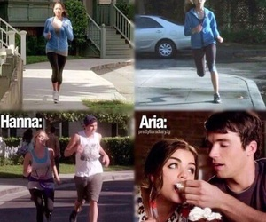 pll, funny, and pretty little liars image