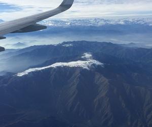 fly, viaje, and montanas image