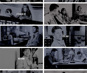 bunker, sam winchester, and dean winchester image