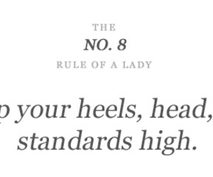 lady, heels, and rules image