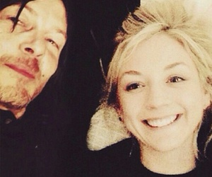 norman reedus, the walking dead, and emily kinney image