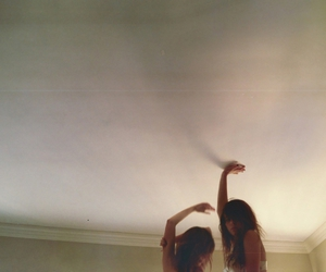 girl and ceiling image