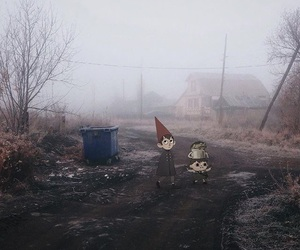 creepy, fog, and real life image