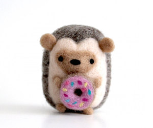 art toy, collectibles, and donut image
